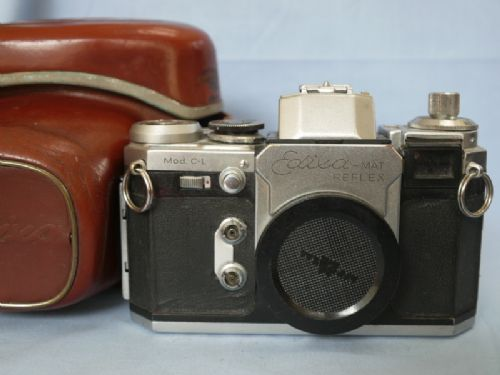 Edixa Mat Reflex Mod C-L SLR Vintage Camera Cased with WLF £17.99